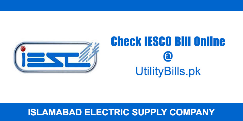 IESCO Online Bill